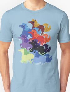 My Little Primal Ponies Unisex T-Shirt