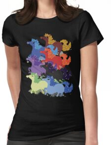 My Little Primal Ponies Womens Fitted T-Shirt