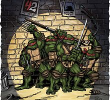 Ninja Turtles Classic Defence Stand by Arseniy Dubakov