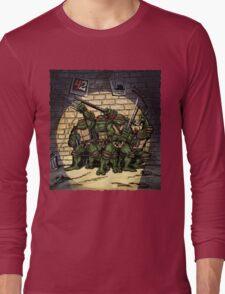 Ninja Turtles Classic Defence Stand Long Sleeve T-Shirt