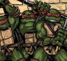 Ninja Turtles Classic Defence Stand Sticker