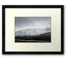 September snow Framed Print