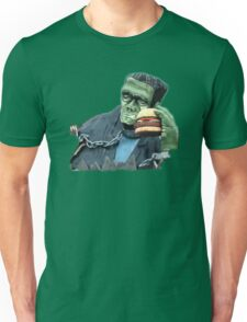 Buger Monster Unisex T-Shirt