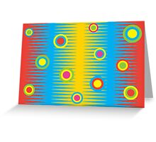 Rainbow Aztec - Card Greeting Card