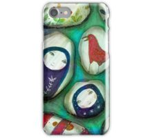 painted stones  iPhone Case/Skin