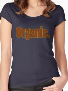 Organic Women's Fitted Scoop T-Shirt
