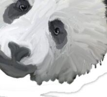 Sad Panda Tee, Sticker, Iphone Case Sticker