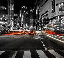 Shibuya Blur by Michelle McConnell