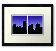 Vancouver From False Creek Framed Print