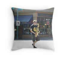 The Kiltlifters Street Parade Throw Pillow