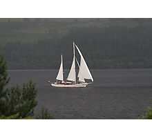 Sailing on Loch Ness Photographic Print