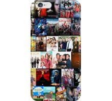 TV SHOWS COLLAGE iPhone Case/Skin