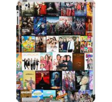 TV SHOWS COLLAGE iPad Case/Skin