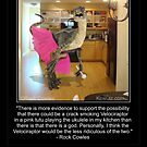 Velociraptor In The Kitchen by Kowulz