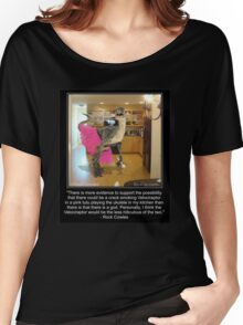 Velociraptor In The Kitchen Women's Relaxed Fit T-Shirt