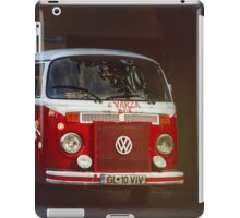 Hippie Red Bus iPad Case/Skin