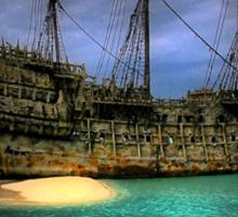 Pirate Boat Sticker