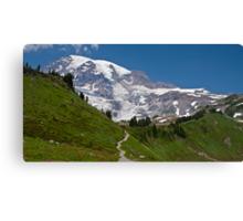Mt. Rainier from the Alta Vista Trail, Paradise Canvas Print