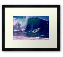 I Said Get In The Tube Framed Print