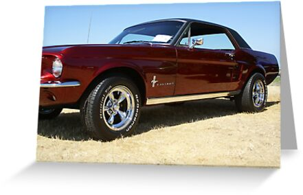 67 Mustang Coupe by Shawnna Taylor