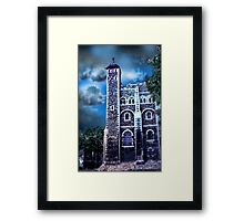 Vintage Tower of London Framed Print