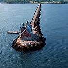 Rockland Breakwater Light by Patrick Downey