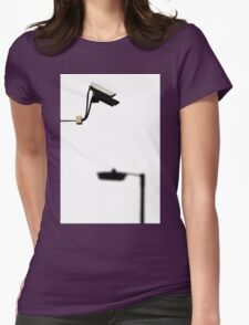 CCTV  Womens Fitted T-Shirt