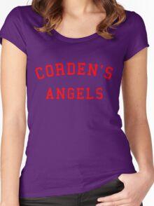 CORDEN'S ANGELS Women's Fitted Scoop T-Shirt