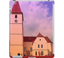 The village church of Kleinzell II | architectural photography iPad Case/Skin