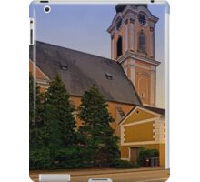 The village church of Scharten II | architectural photography iPad Case/Skin
