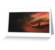 Before The Light | Star Wars Universe Landscape Greeting Card