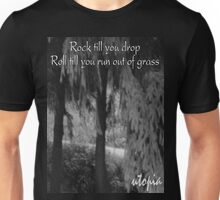 Rock Roll Utopia Unisex T-Shirt