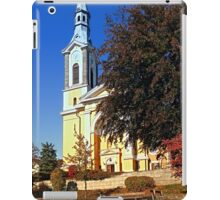 The village church of Niederkappel II | architectural photography iPad Case/Skin