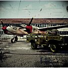 P38 at Rest by frogster