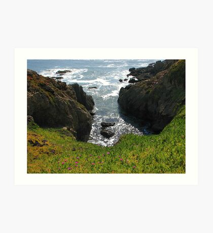 View from Pigeon Point  Art Print