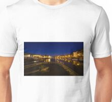Bristol docks by night  Unisex T-Shirt