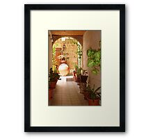 Ode on a Grecian Urn Framed Print