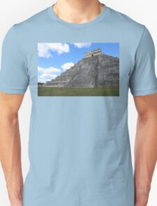 Chichen Itza Temple of Kukulcan south-west View Unisex T-Shirt