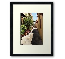 Rhodes: The Old Town Framed Print