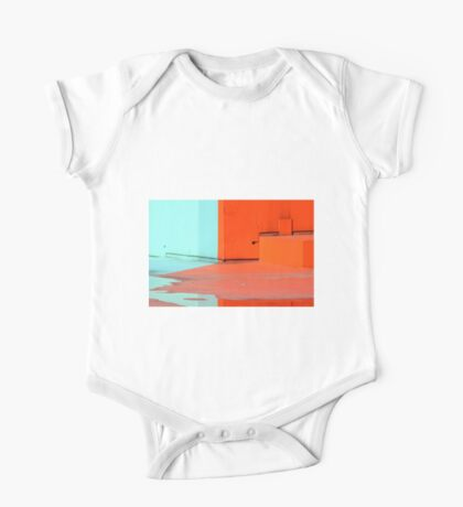 Paint and water reflection  One Piece - Short Sleeve
