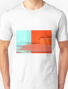Paint and water reflection  T-Shirt