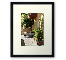 Sunshine and Shadows Framed Print