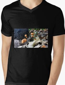 Microfungus Mens V-Neck T-Shirt