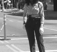 PoliceWoman at AIDS Walk LA, 2007 by umbrella4rain