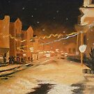 January Snow by Jasna Bogdan