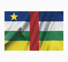 Central African Republic Flag Kids Tee
