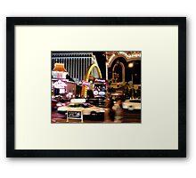 MickeyDee's on the Strip! Framed Print