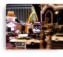 MickeyDee's on the Strip! Canvas Print