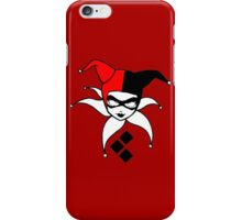 The Harlequin of Gotham iPhone Case/Skin