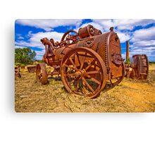 Rusty Steam Canvas Print